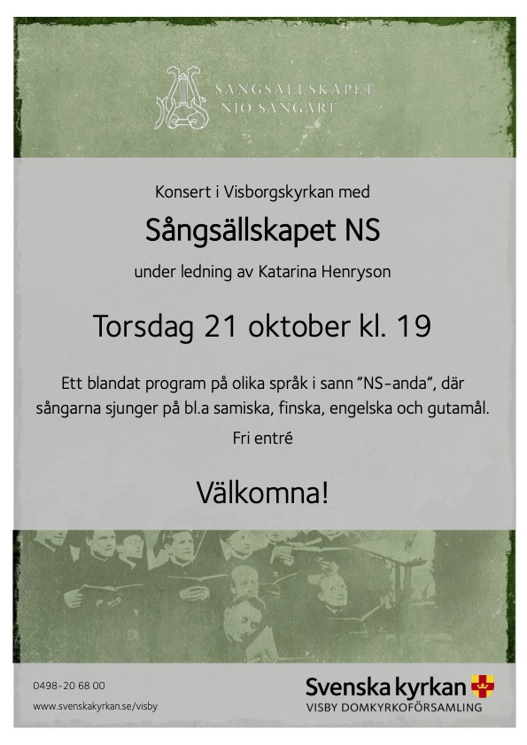 Visborgskyrkan 19:00